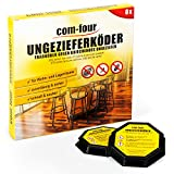 com-four® 8X Ungeziefer Köder-Falle, anwendungsfertige...