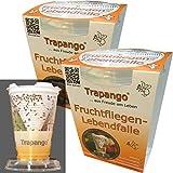 2x Fruchtfliegen-Lebendfalle Trapango®, (2er-Pack)